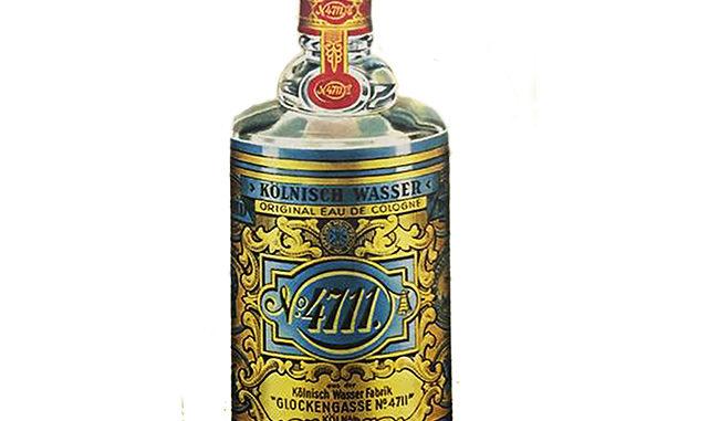 Bild von einer 4711-Flasche