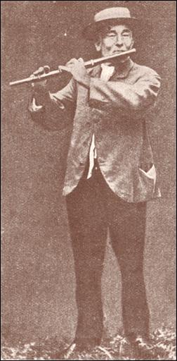 Bild vom Fleuten-Arnöldche, einem kölschen Original