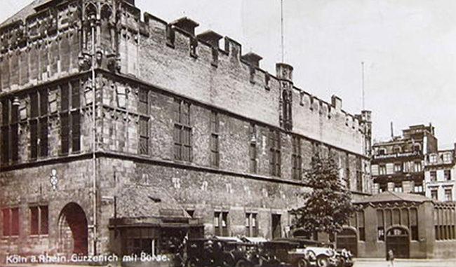 Bild vom Kölner Gürzenich 1938