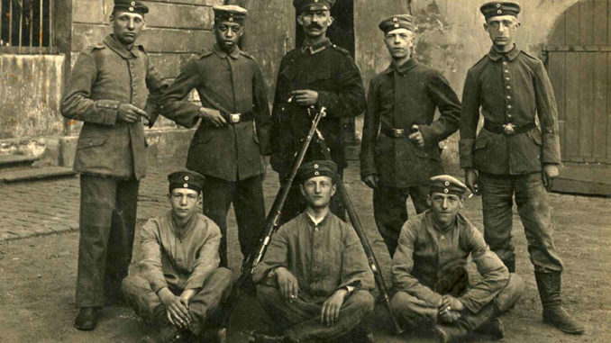 Bild von Elo Wilhelm Sambo im Eisenbahnregiment Nr. 1