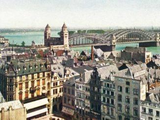 Bild Rheinbrücke Köln am Rhein
