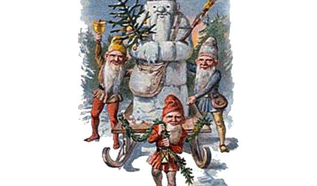 Bild von Weihnachtszwergen